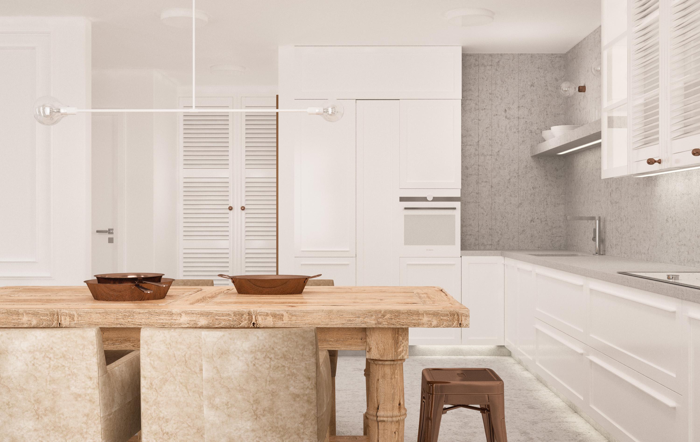projekt mieszkania dwupoziomowego