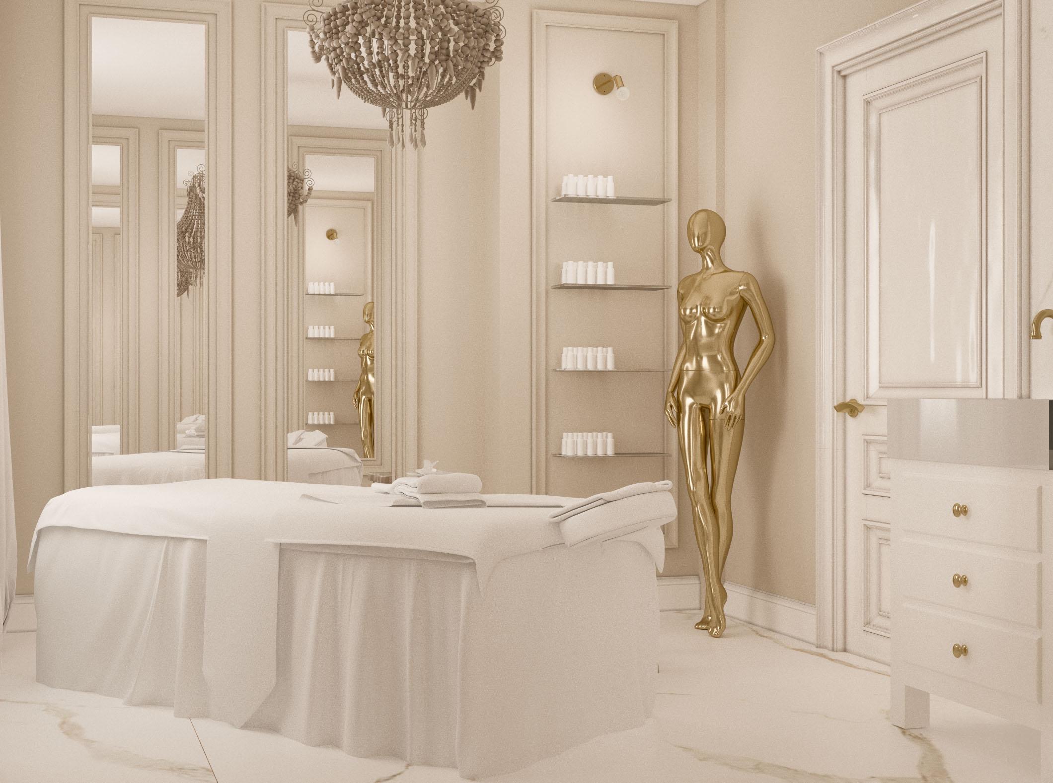 wnętrze salonu kosmetycznego